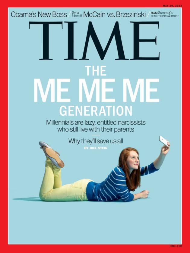millennial me me me generation