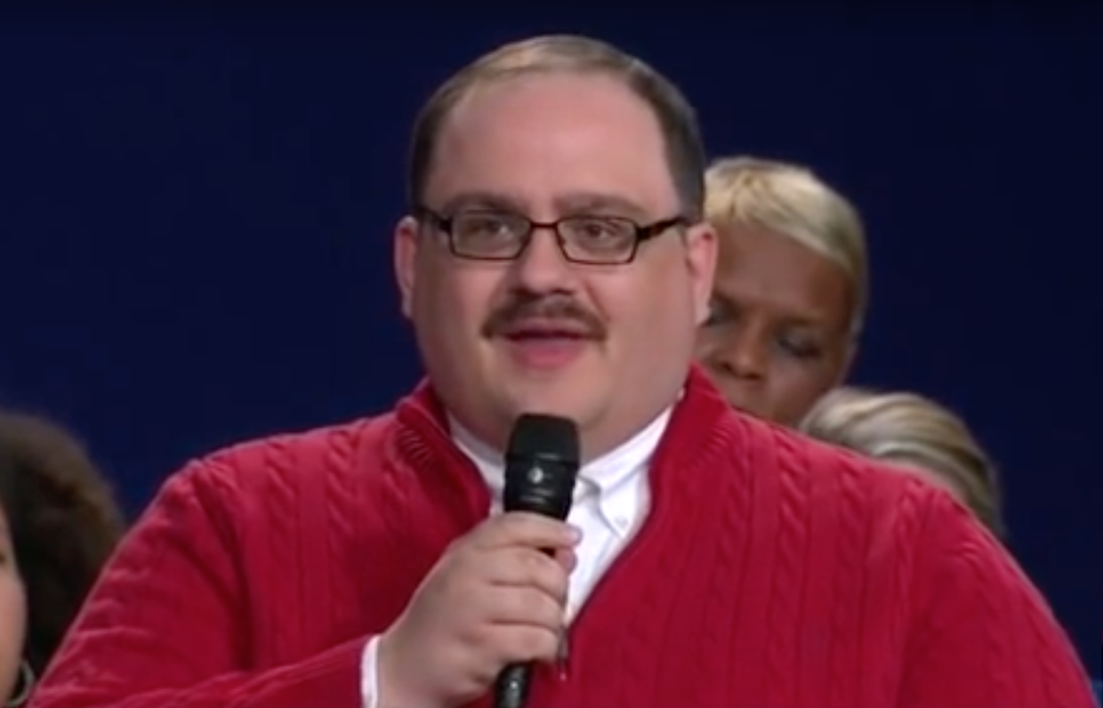 Octobers meme surprise ken bone and his red sweater delight a campaign weary internet