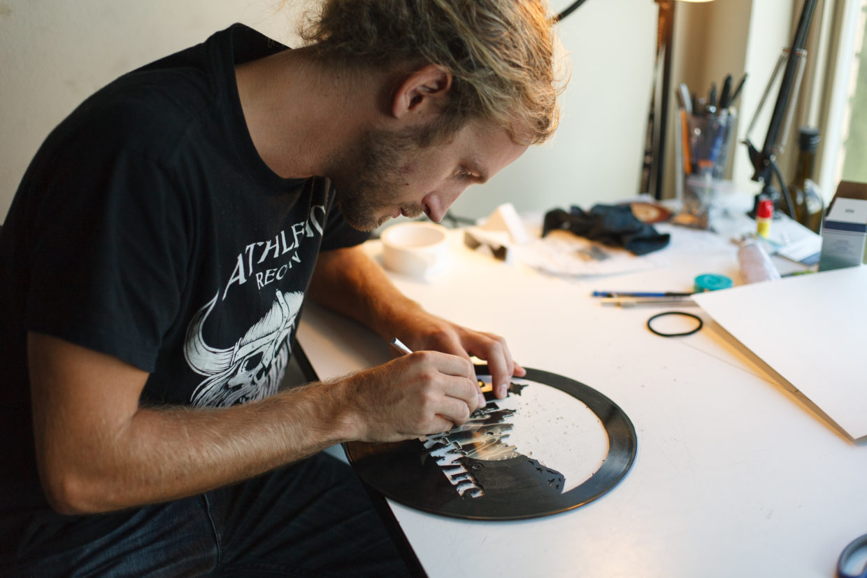 Seattle Artist Hopes Kickstarter Moves The Needle As His