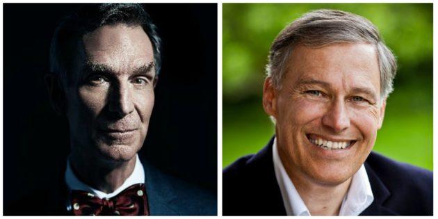 Bill Nye, Jay Inslee