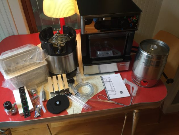 I used a new high-tech appliance to make craft beer at home, and here's how it tasted