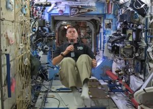 Shane Kimbrough on space station
