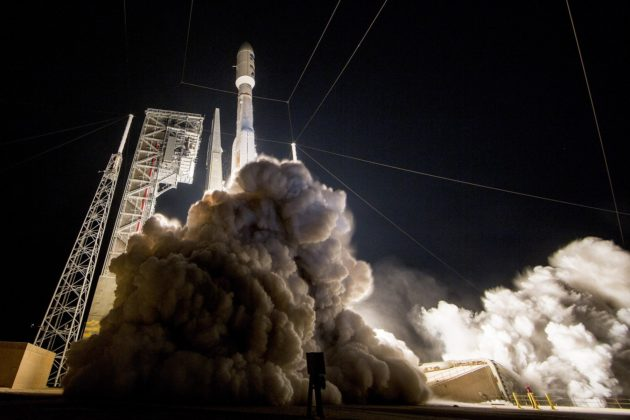 GOES-R launch on Atlas 5
