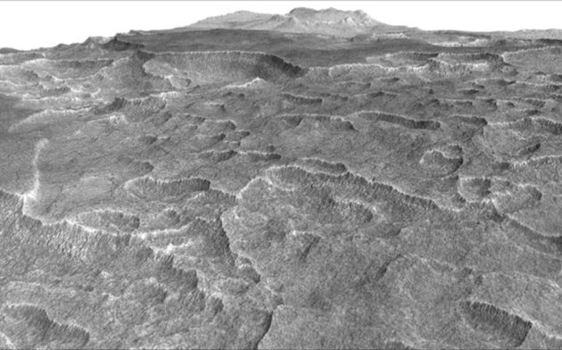 Utopia Planitia on Mars