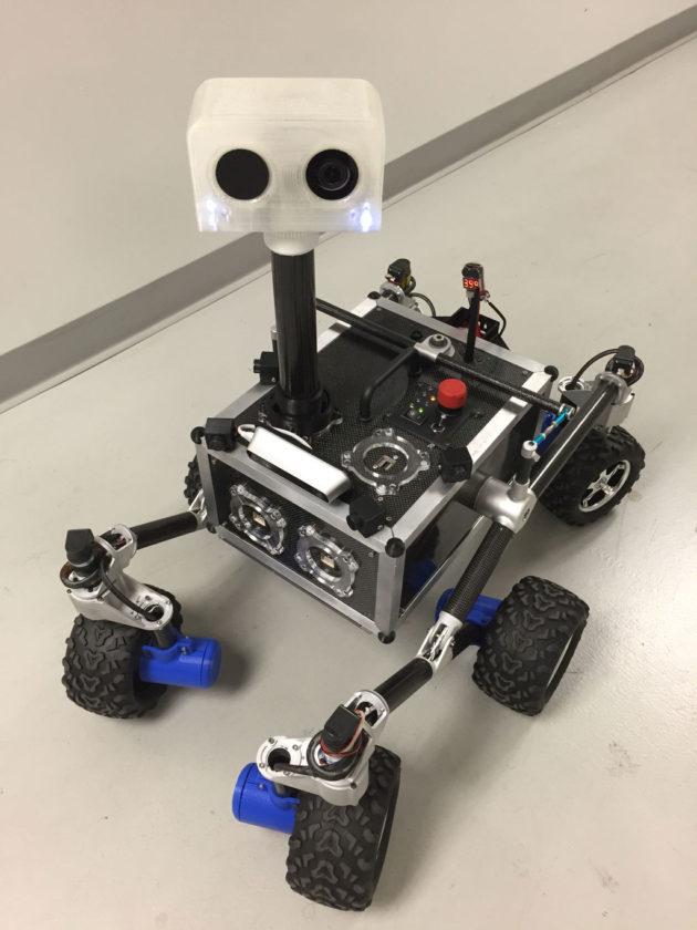 ROV-E rover
