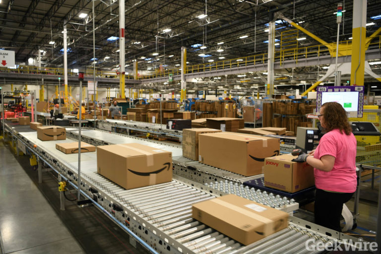 Inside look: How Amazon's robots help pick, pack, and ship your