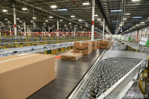 Amazon is looking for individuals who can thrive in a fast-paced warehouse environment that involves working with and around moving machinery. Our fulfillment centers are technologically advanced warehouses where our associates bring Amazon orders to life.