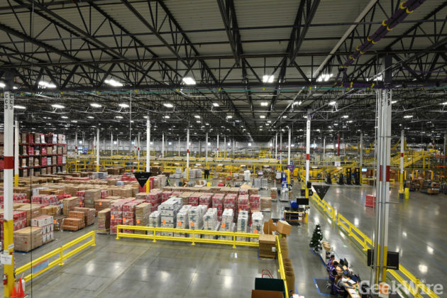 4f75639901f29 Amazon opening 1st distribution center in Eastern Washington, 4th ...
