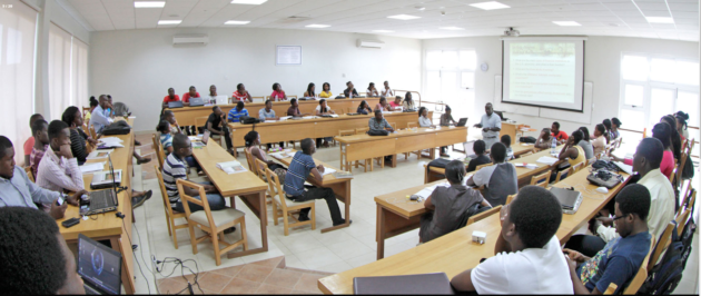 A typical Ashesi classroom. Photo: Ashesi University.