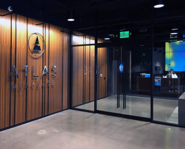 Atlas Workbase opened its first location earlier this month. Credit: Atlas Workbase.