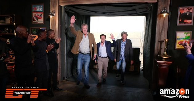 Grand Tour premiered on Amazon Prime Video Friday and broke viewership. (Amazon Photo Via Twitter)