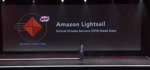 AWS CEO Andy Jassy launches Amazon Lightsail at re:invent 2016