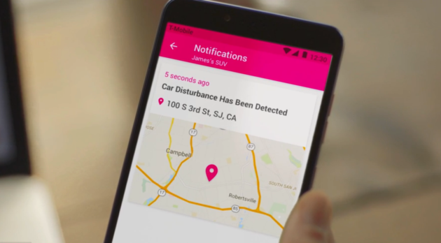 T-Mobile's new SyncUP DRIVE service will be available Nov. 18.