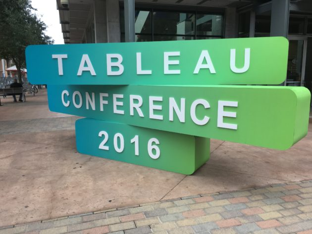 Tableau Software is revealing new products at Tableau Conference 2016 Tuesday. Credit: Tableau