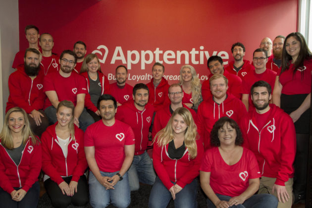 The Apptentive team. Photos via Apptentive.