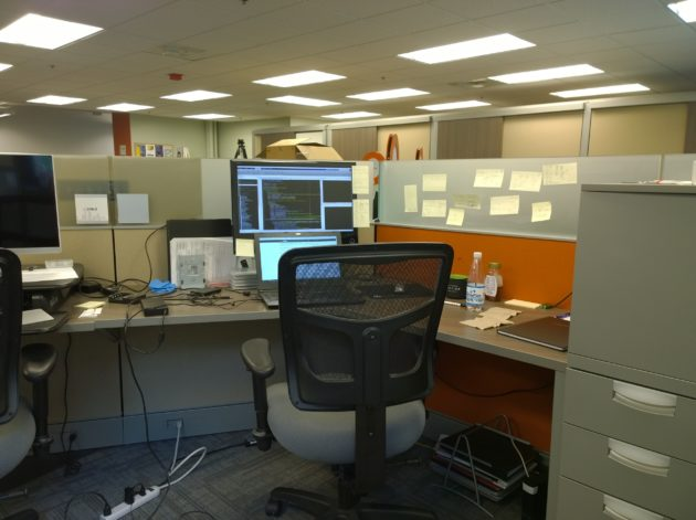 Lucas Ting desk
