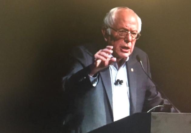 Watch Bernie Sanders Perfectly Explain the Hidden Message Behind Trump's