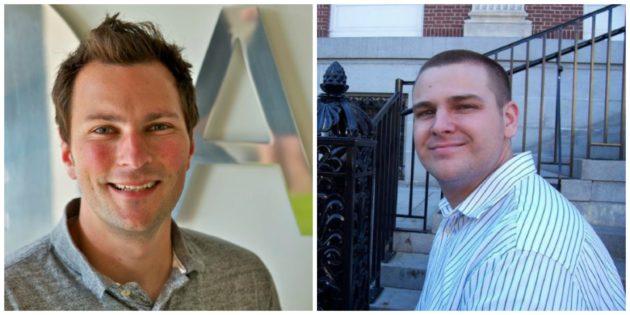 BuildPulse founders Jason Burt and Brice Kosnik.