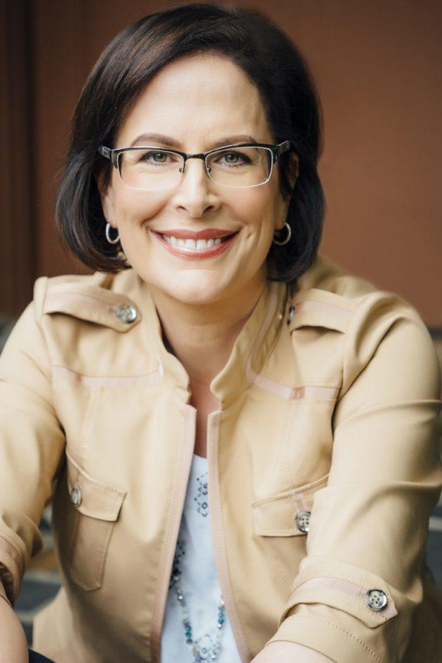 Microsoft Executive Vice President of HR Kathleen Hogan. Photo via Microsoft.