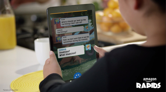 Amazon's new reading app lets kids text with characters