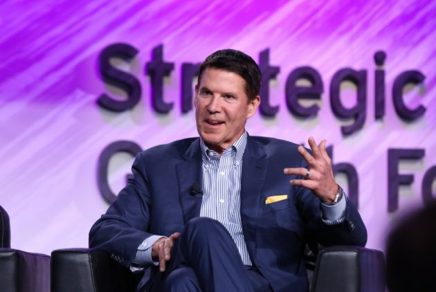 Keith Krach at the EY Strategic Growth Forum. (EY photo / Armando