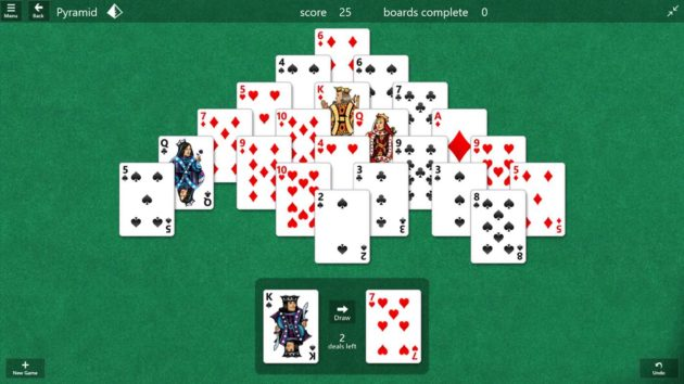 free microsoft solitaire collection for ipad