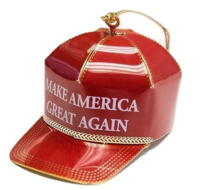 Amazon Trump ornament