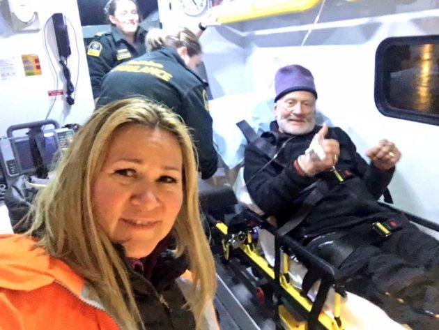 Buzz Aldrin and Christina Korp