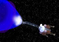 Positron rocket engine