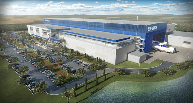 Blue Origin factory completed