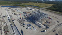 Blue Origin construction site