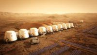 Mars One settlement
