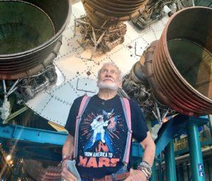 Buzz Aldrin at Apollo/Saturn V Center