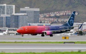 Blended branding for Alaska Airlines and Virgin America