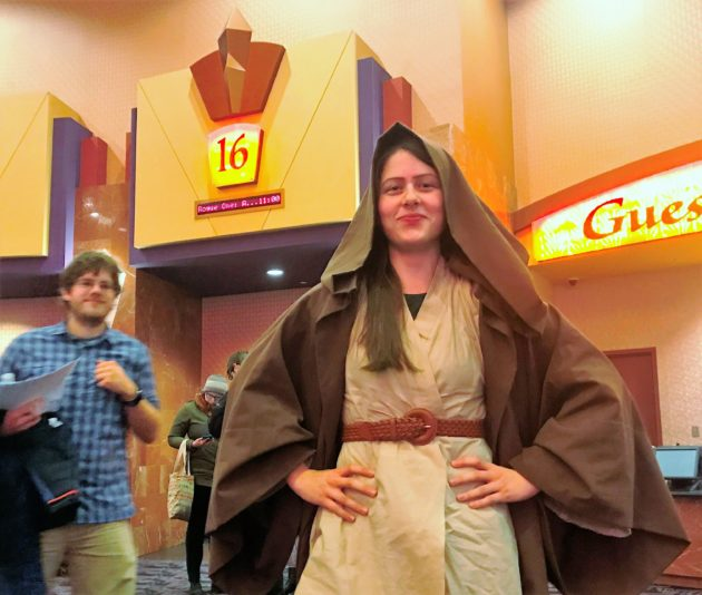 star wars tribe turns out in force for rogue one geekwire star wars tribe turns out in force for