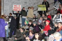 Protesters in Olympia