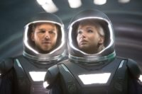 "Chris Pratt and Jennifer Lawrence in ""Passengers"""