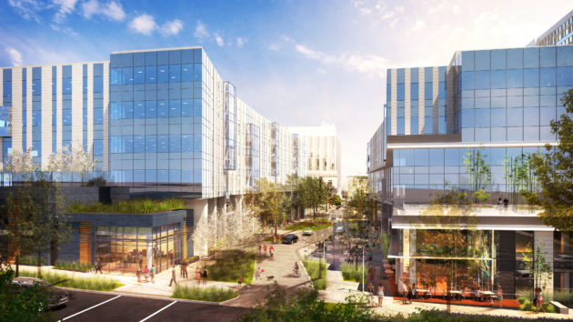 The Arbor Blocks project in Seattle's South Lake Union neighborhood. (Vulcan Real Estate Photo)