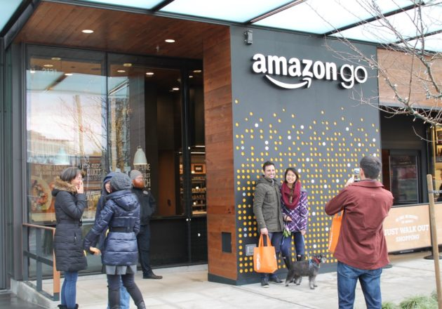 Amazon plans to introduce new Go stores in the UK