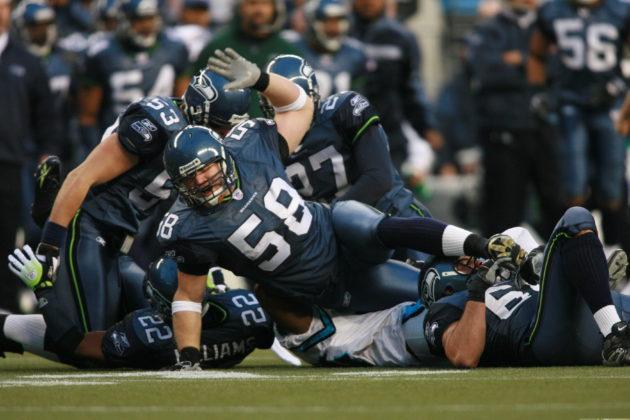 Isaiah Kacyvenski spent eight seasons in the NFL, including six with the Seahawks. Photo via Isaiah Kacyvenski.