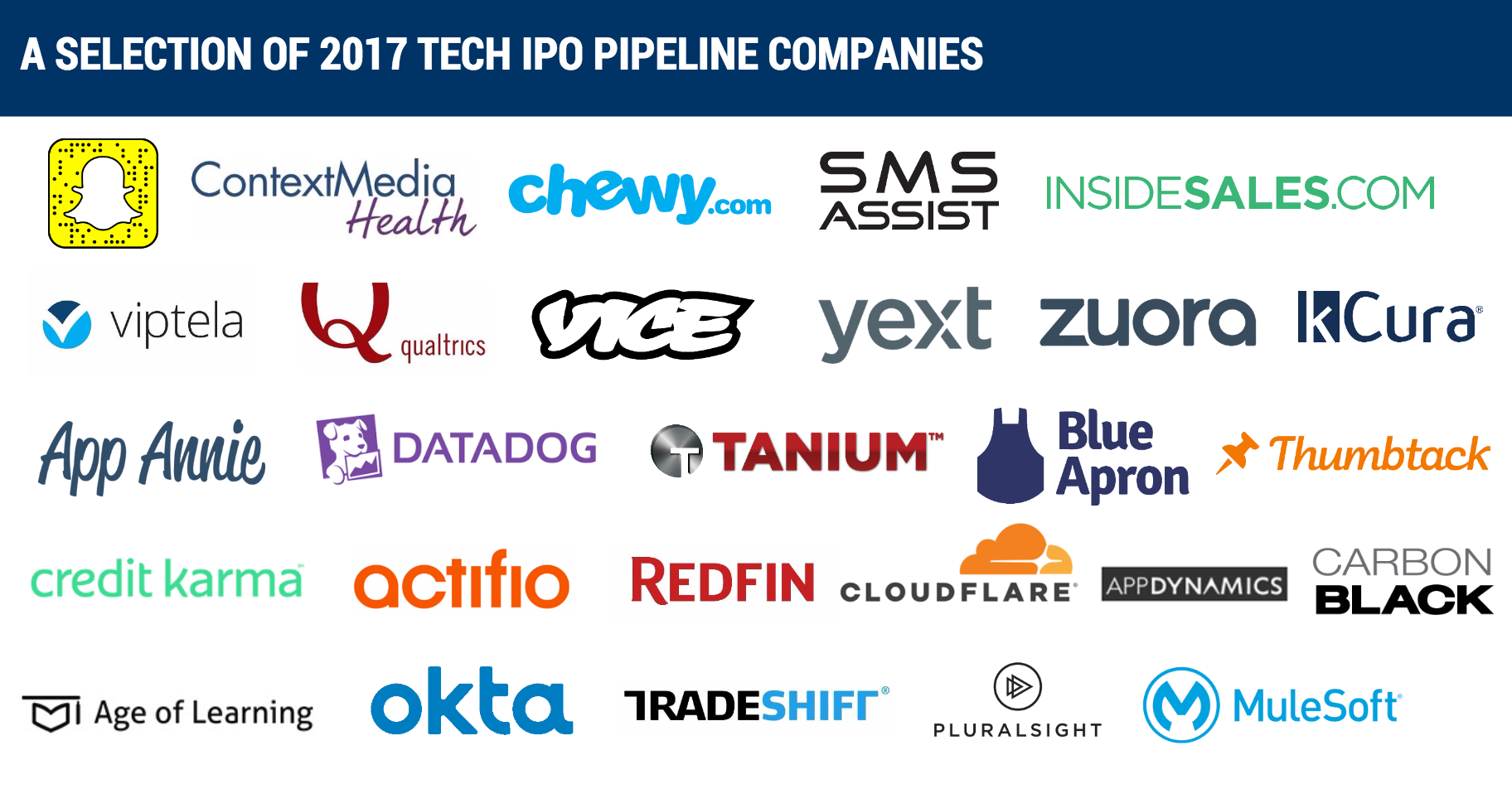 Here are the top 5 companies most likely to have an IPO in