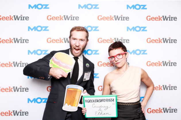 This year's GeekWire Gala attendees brought it.