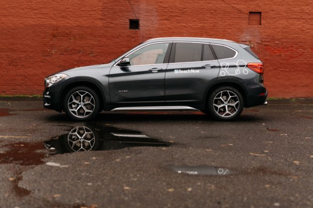 The BMW X1 is now available to rent in Seattle and Portland. Photo via BMW.