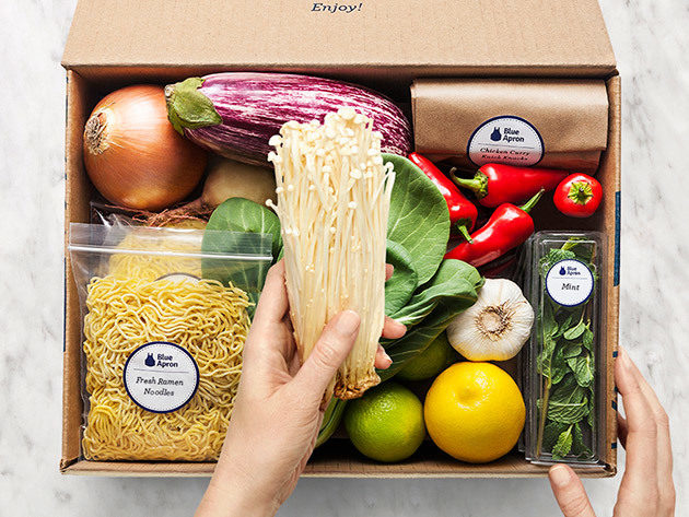 Blue Apron is slipping after laying off hundreds of workers (APRN)