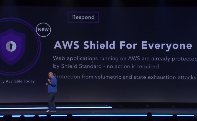 Amazon Web Services unveils 'Shield' to protect sites from crippling