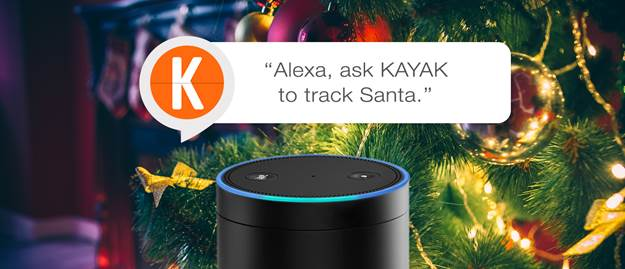 Amazon echo will track santa this year with help from the