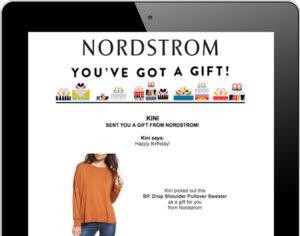 Nordstrom eGifting