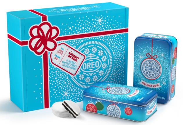 Oreo holiday cookies