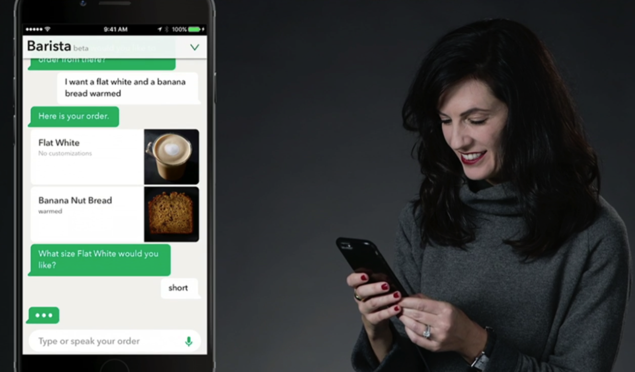 Coffee From A Chatbot Starbucks Unveils My Starbucks