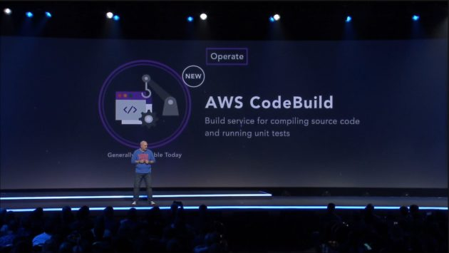 Amazon CTO Werner Vogels unveils AWS CodeBuild at AWS re:invent